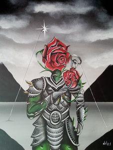 """"""" L'armure et la rose"""" Vendue"""