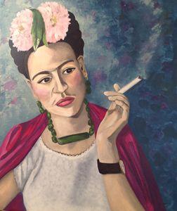 Frida Khalo portrait