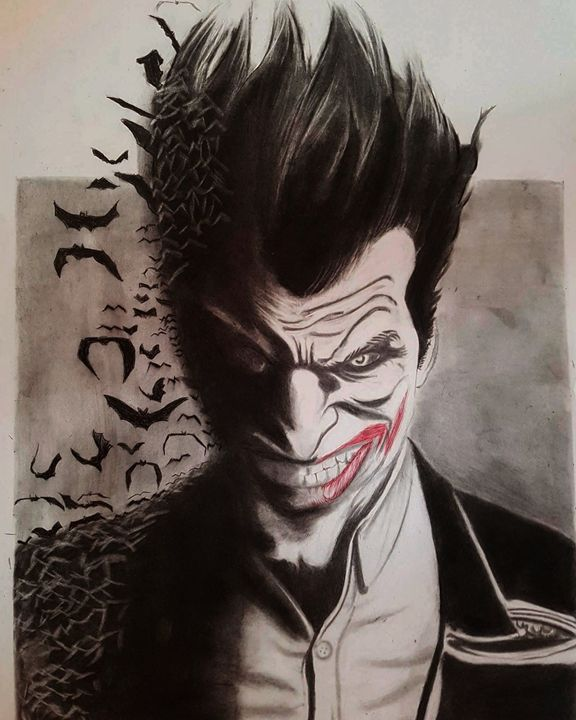 Joker DARKNIGHT - AZERG ART
