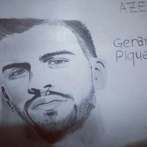 gerarrd piqué - AZERG ART
