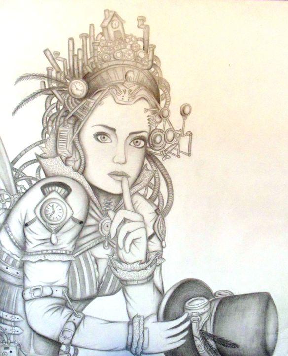 Steampunk Fairy - Kili's Creative Space