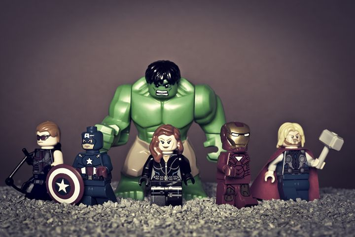 Avenger Assemble - Jammy Photography