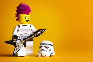 Rocking Out Stormtrooper