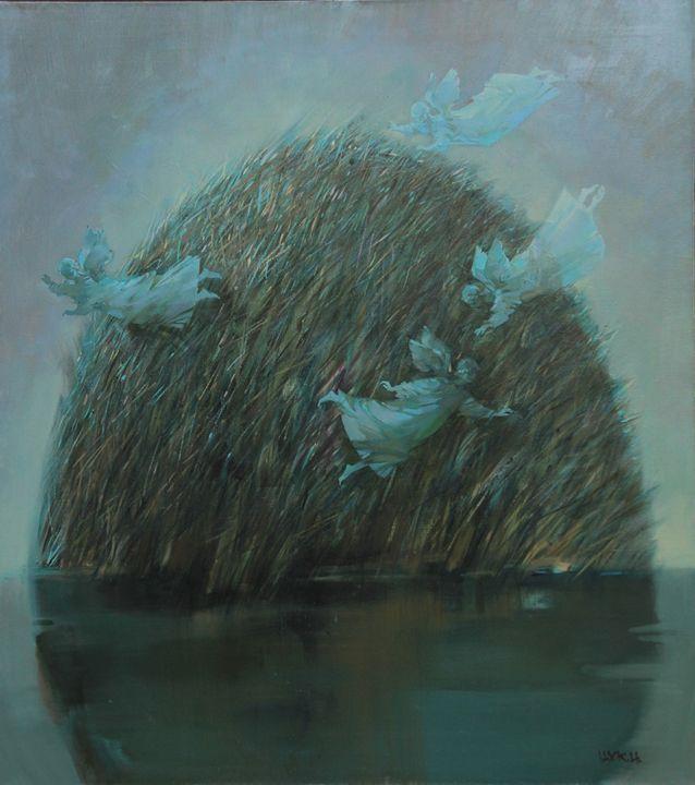Green Island Hedgehog - Fusia Arts