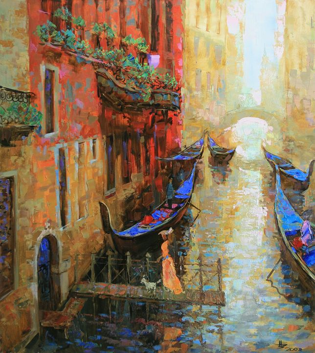 Streets of Venice - Fusia Arts