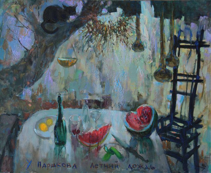 Summer Rain of Parshkov - Fusia Arts