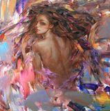 85x85cm Oil on canvas
