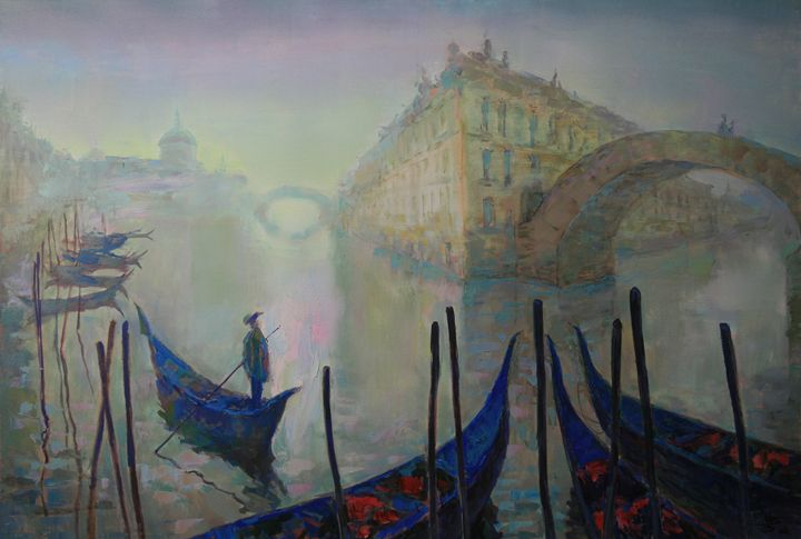 Dawn in Venice - Fusia Arts