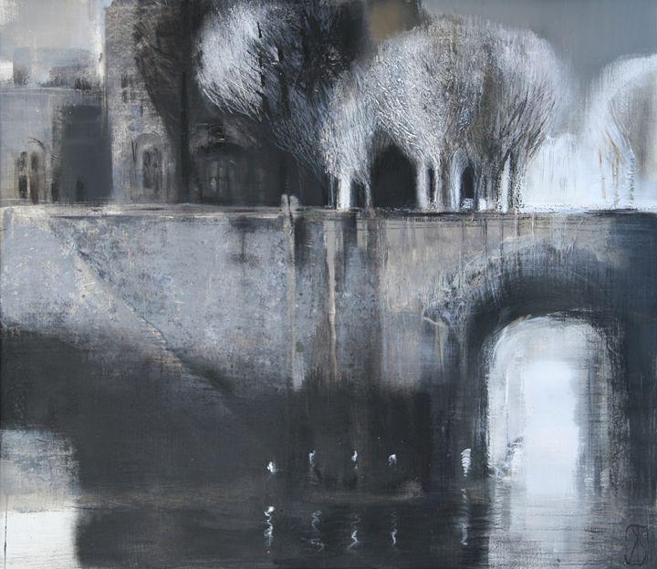Embankment in Paris - Fusia Arts