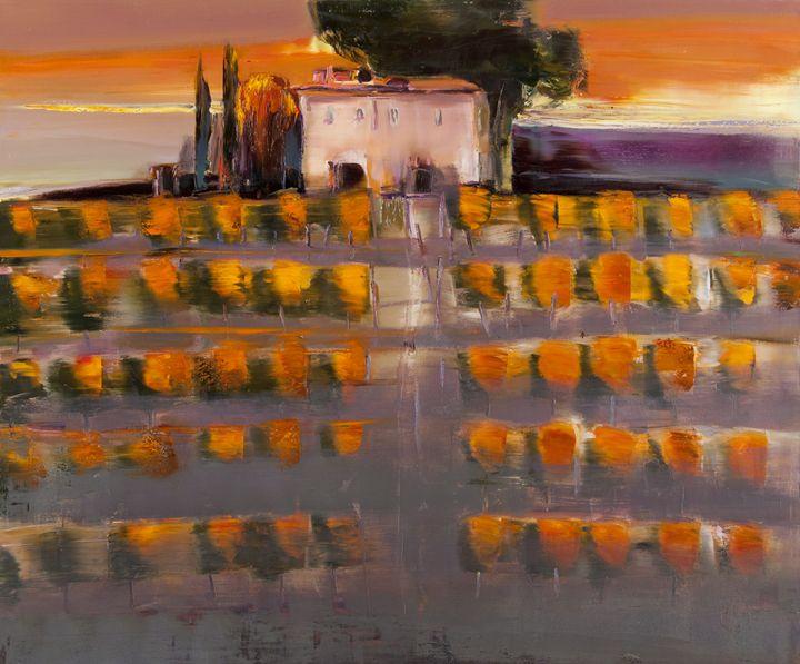 Tuscany - Fusia Arts