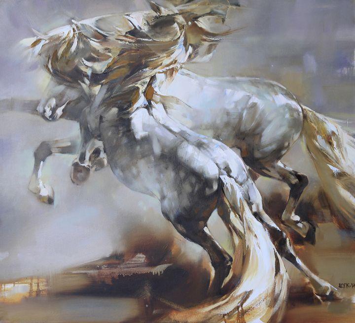 Silver whirl - Fusia Arts