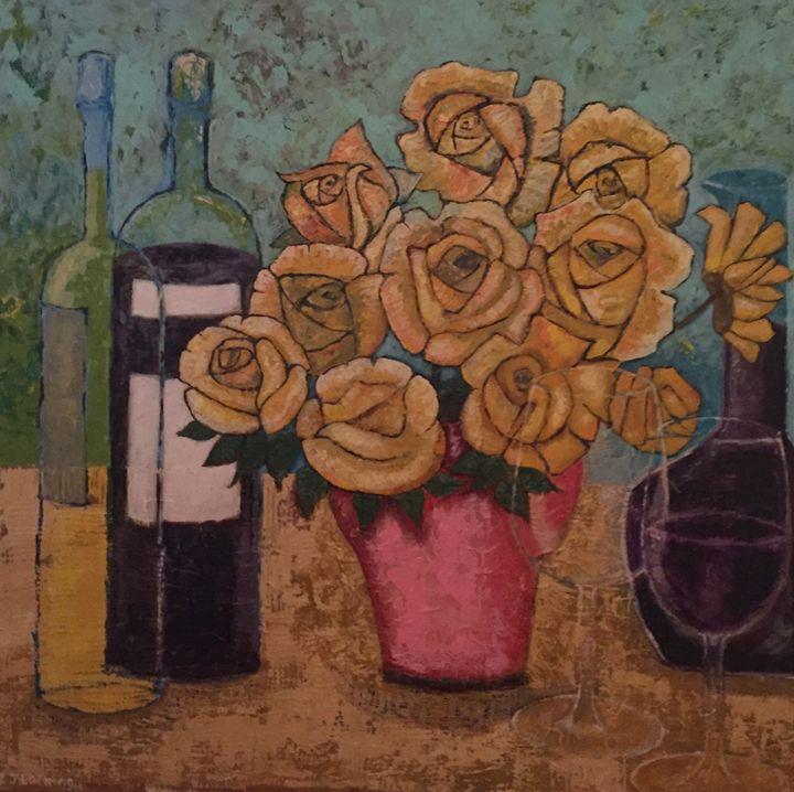 yellow roses - ian locking