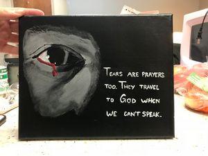 Tears are prayers, too