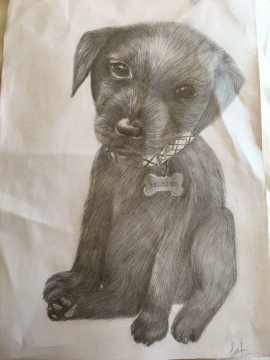 Labrador pup - Animal Arts