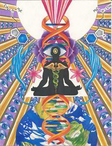 Ascension/ Transformation into light
