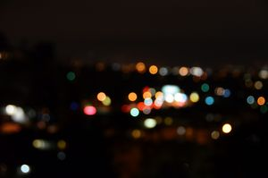 Bokeh Night in Silverlake
