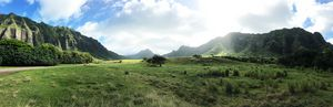 Kualoa Ranch Panoramic