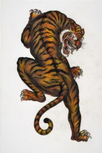 TIGER RIB TATTOO DESIGN