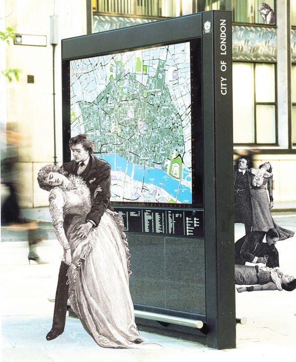 Distress 50 - Bob May collages