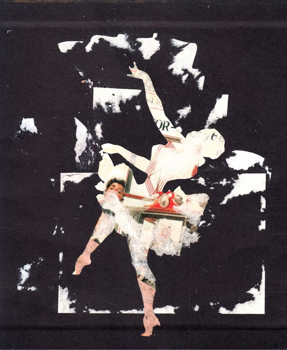 An alternative dance - Bob May collages