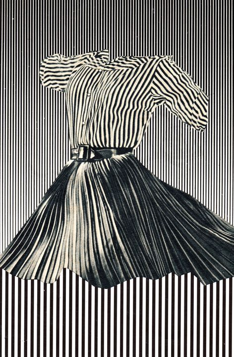 Stripes - Bob May collages