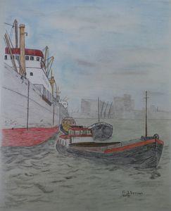 Waalhaven 1958
