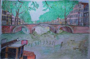Brouwersgracht met de Pastoorsbrug
