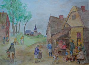 Dorpsherberg    (Village Inn) - cornelissart