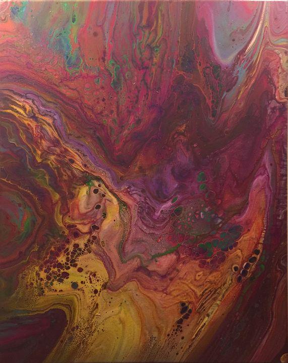 Cosmic Ooze - Cheryl A Thurston Art