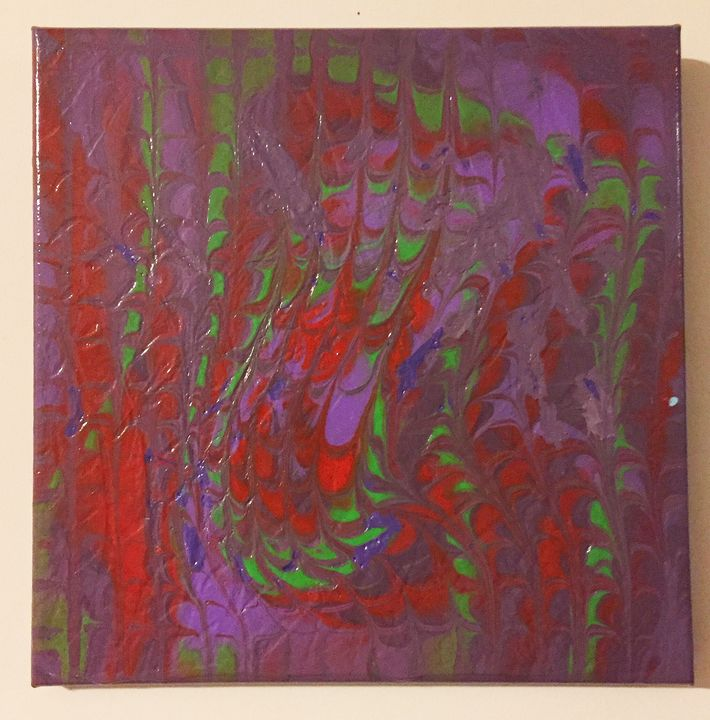 Purple Hazy - Cheryl A Thurston Art