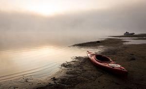 Kayak on the Beach - Maureen's Moments