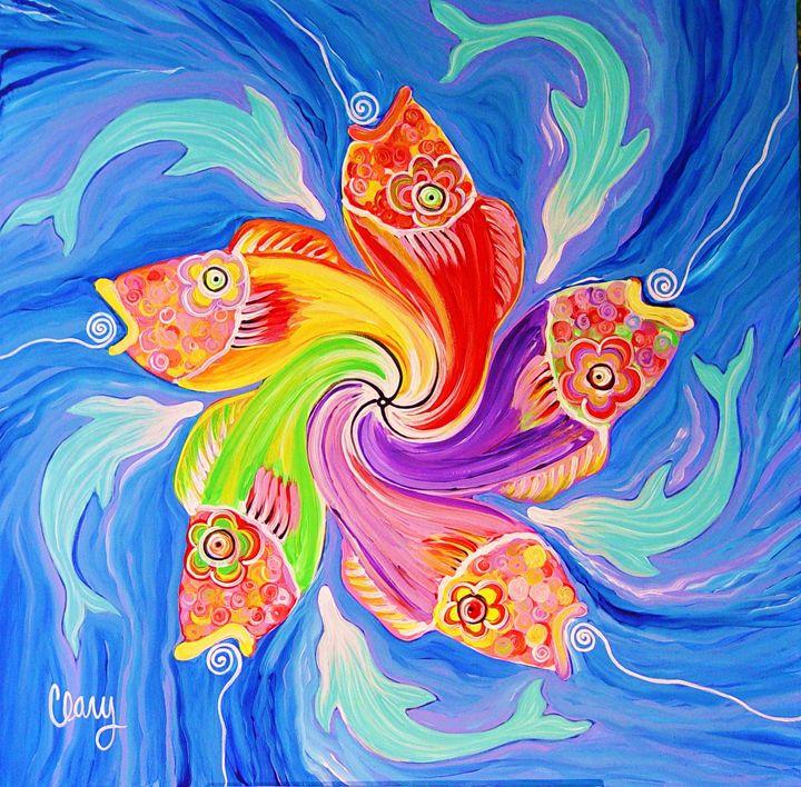 Fish Mandala - Clary Meserve