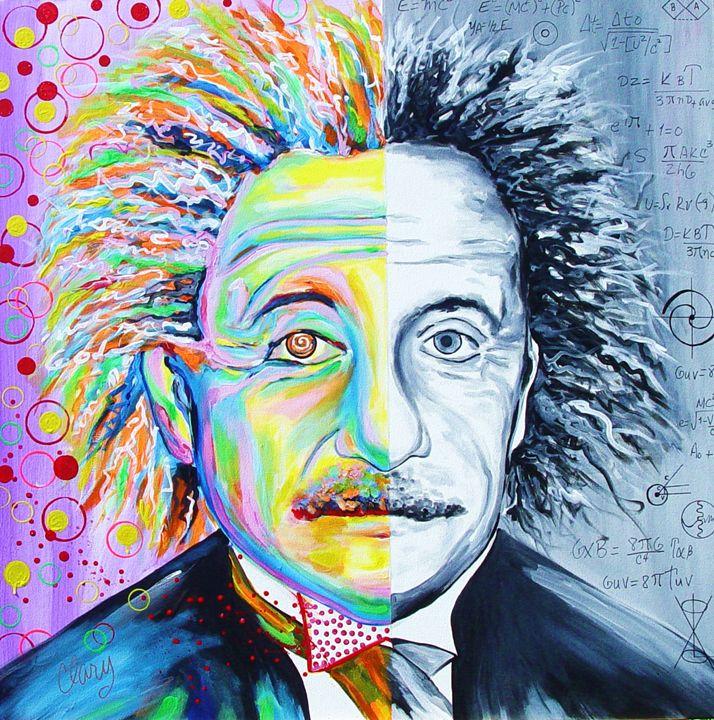 Einstein's Art & Science - Clary Meserve