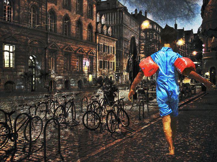 Walking The Streets - HumblePie Art