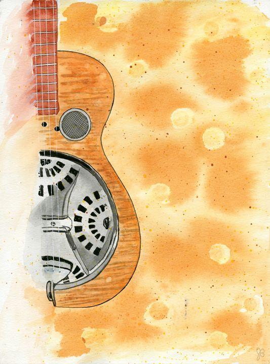 Dobro Guitar - James Badger