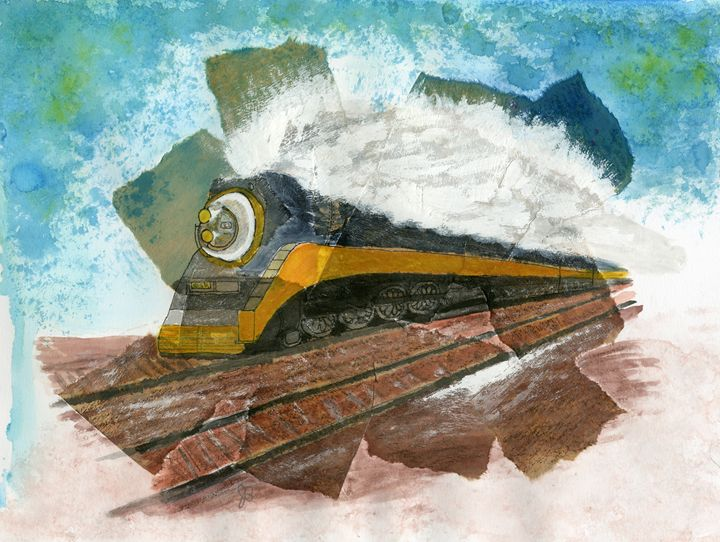 Locomotive - James Badger