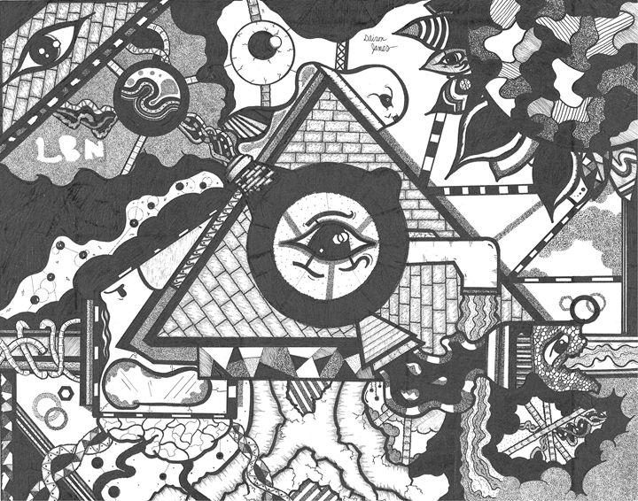 A Fair Amount of Somethin' - Mr.LBN's Art Lair
