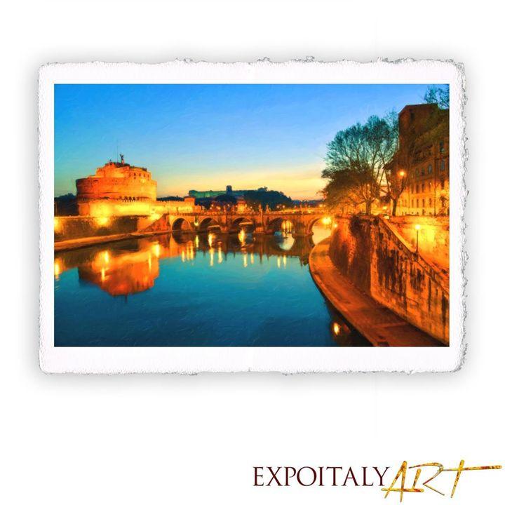 Rome - Castel Sant'angelo 11.82 x 15 - ExpoitalyArt