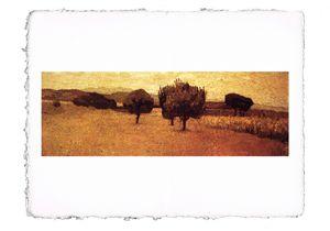 Abbati - Landscape at Castiglioncell
