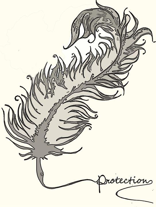 Feather Tattoo 1 - Cecelia C Gallery