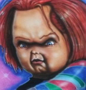 Airbrush Chucky - Madboxer