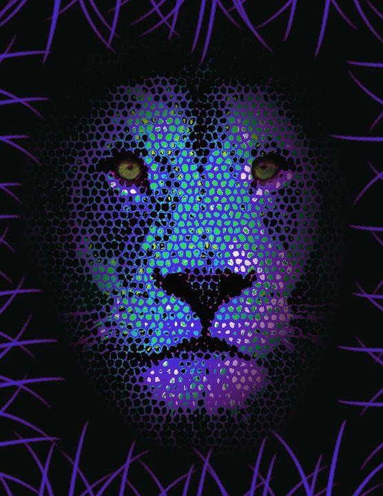 Lion Stones - Graphic art