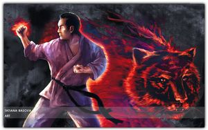Masutatsu Oyama Portrait Karate