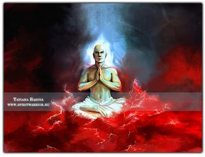 Buddha in the Ocean of Blood