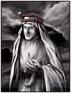 T.E. Lawrence (of Arabia) Art Print