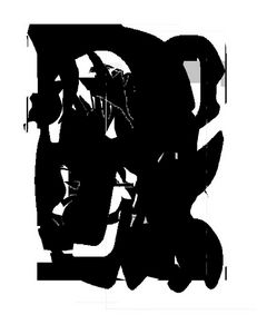 Black and White Abstraction (Three)