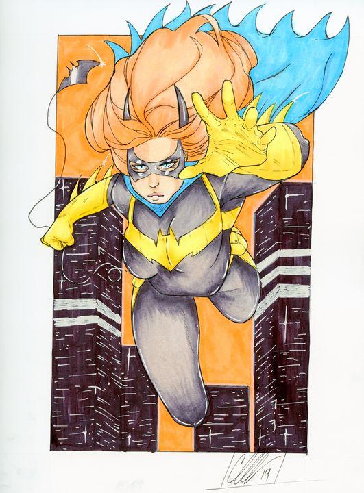 New Batgirl design - Chris CwArts