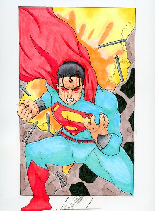 Angry Superman! - Chris CwArts