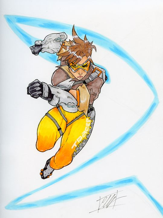 Tracer - Chris CwArts