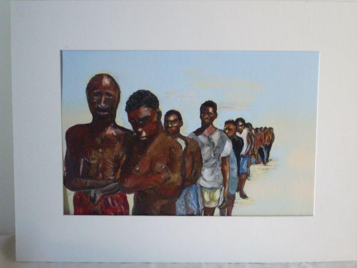"""""""Somali Tribe"""" - Doreen Mary Smith"""